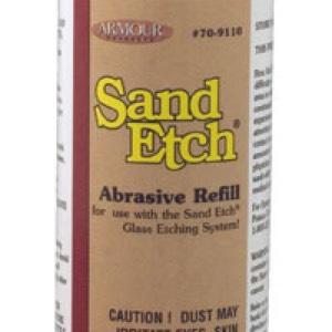 12oz Sand Etch Abrasive Refill