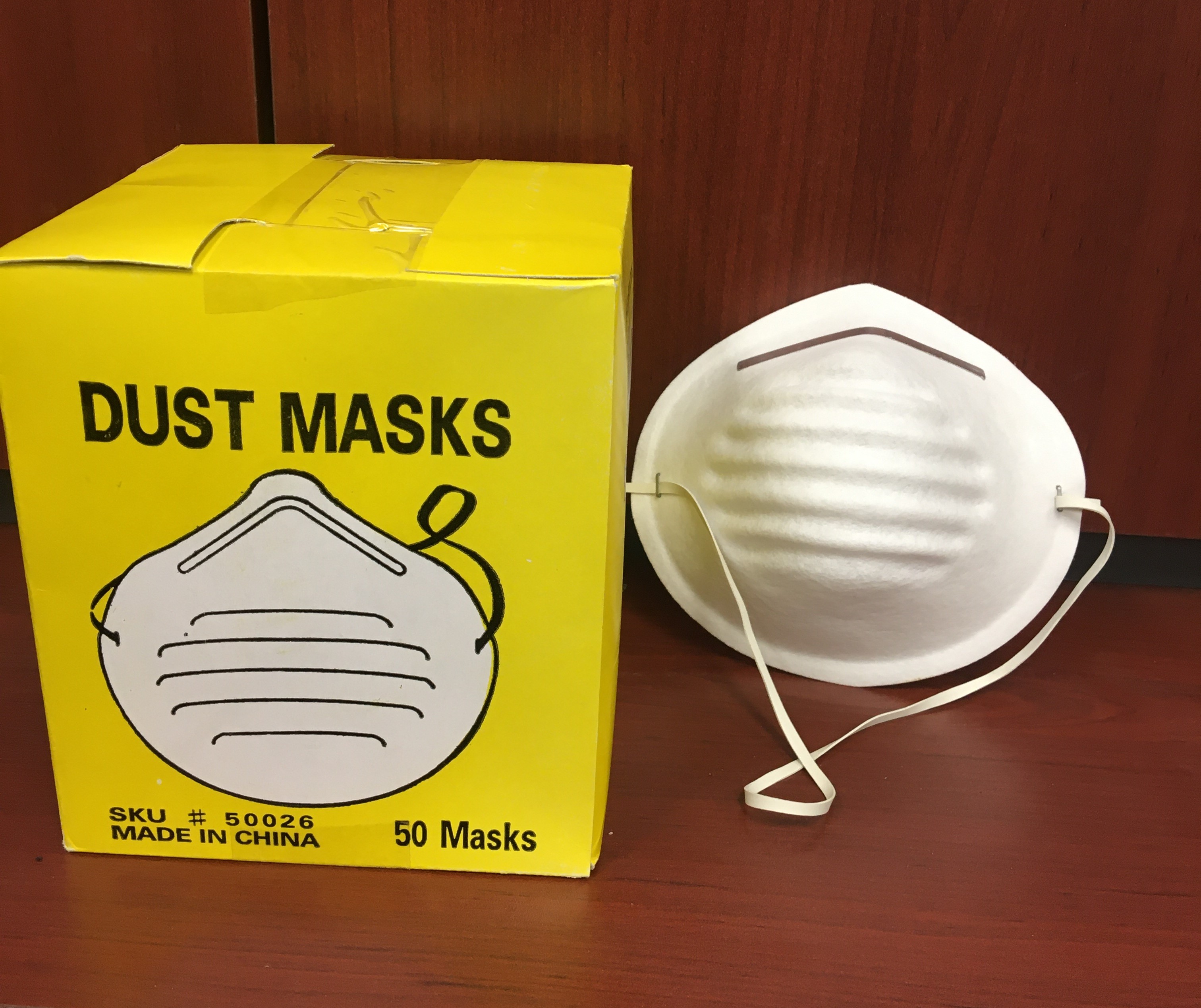 Dust Mask 50 pc.